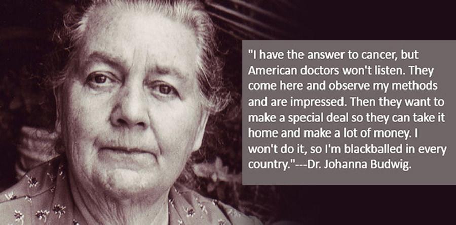 Johanna Budwig prehrana za oboljele od raka